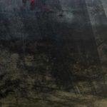 Photo, photographie de détail de coque de bateau du Finistère, rouge et noir @ Christophe Pluchon
