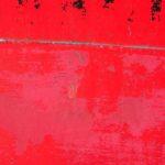 Photo, photographie de détail de coque de bateau du Finistère, rouge, gris, quartier maritime de Brest @ Christophe Pluchon