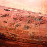 Photo, photographie de détail de coque de bateau du Finistère, marron, orange, noir @ Christophe Pluchon