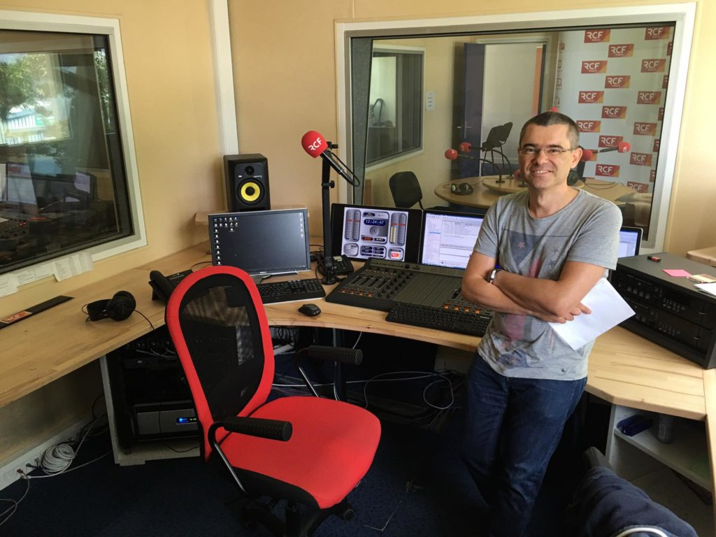 Christophe Pluchon,RCF Finistère,radio,Femmes de Bretagne,Livre et Lecture en Bretagne,Club de la Presse de Bretagne,J'écoute une radio locale,IUT Lannion,Secours des Hommes