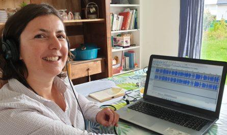 Emmanuelle Lagadec, journaliste et créatrice sonore