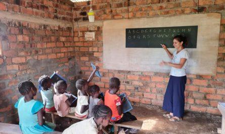 Pauline Daniel s'est envolée pour le Congo-Brazzaville, en février 2021, pour le compte de l'association Iti Ke Na Zonza qui travaille sur la reforestation et l'éducation.