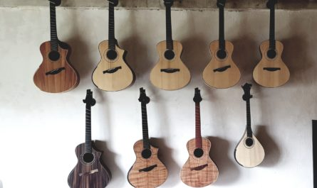 Ses guitares sont réputées partout dans le monde, et utilisées par les plus grands musiciens. Le luthier Pierre-Marc Quintric nous ouvre les portes de son atelier, à Hanvec dans le centre-Finistère.