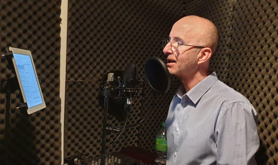 David Le Daëron, la pub radio avec Studiomix à Ergué-Gabéric [Mai 2021]