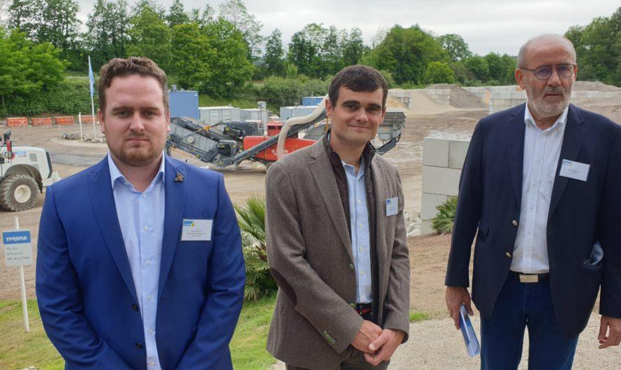 Le recyclage des déchets de chantier avec YPREMA à Pluguffan [Juin 2021]