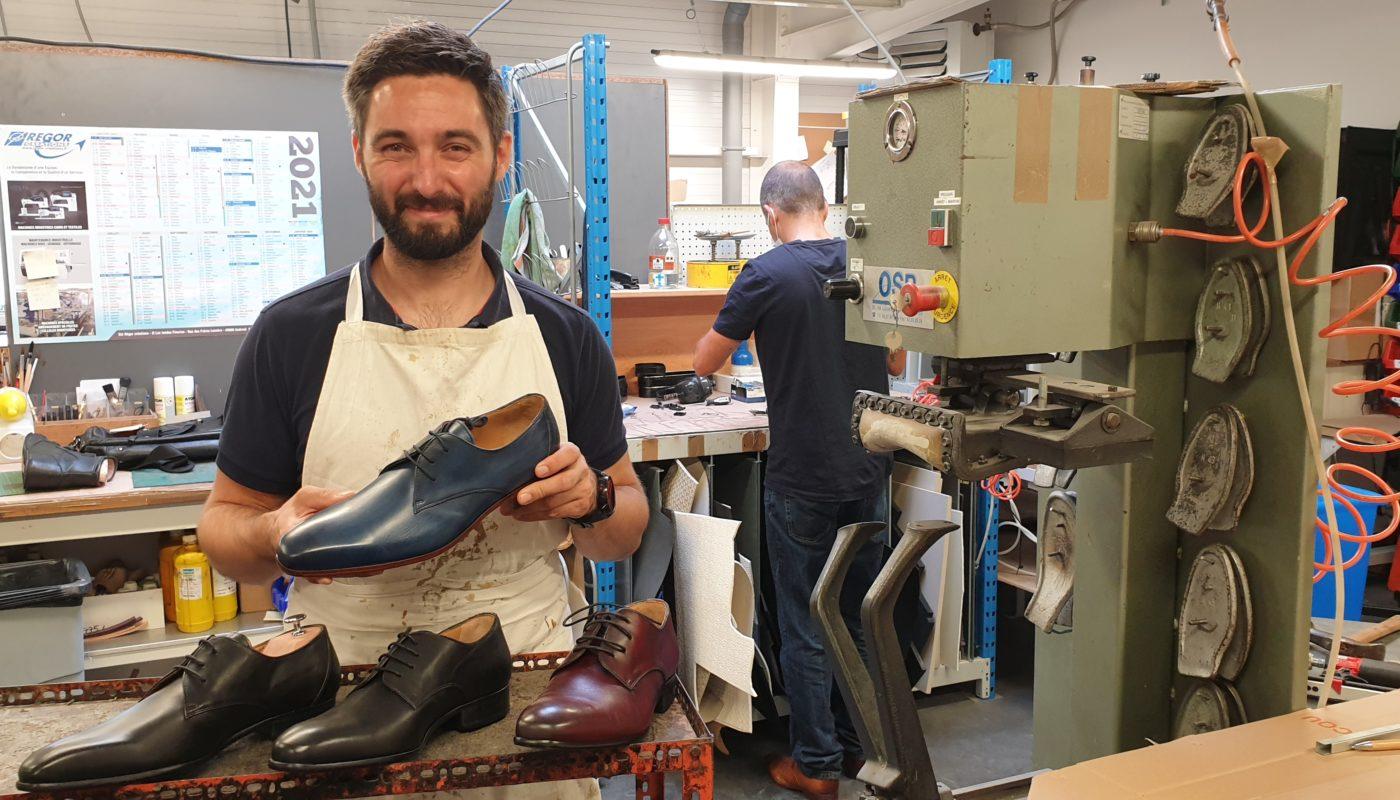 Les chaussures haut de gamme Upster avec son créateur Pierre Durrman, podo-orthésiste à Brest