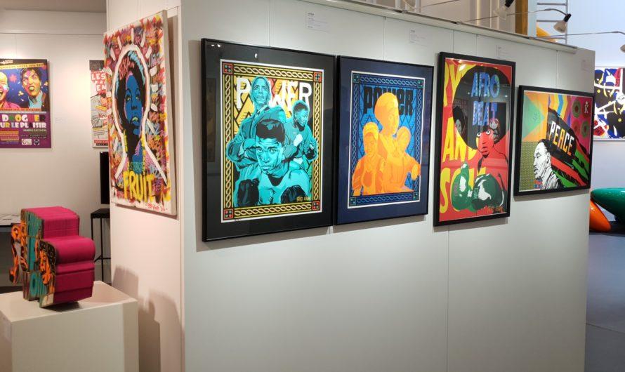 """L'exposition """"New Pop"""" à la galerie d'art Le Comœdia à Brest [Septembre 2021]"""