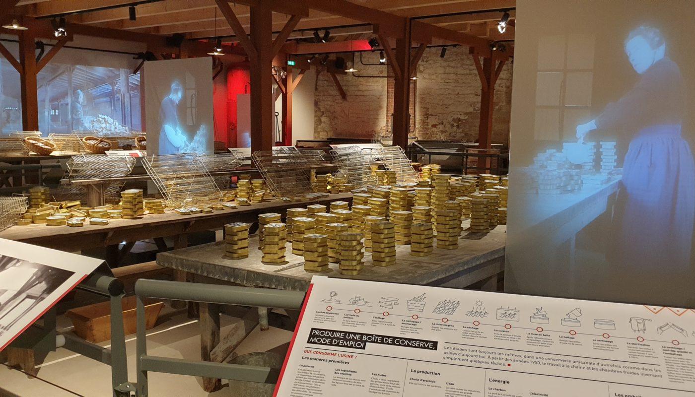 Le musée de la conserverie Alexis Le Gall à Loctudy