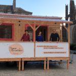 La Maison de l'Alimentation Itinérante de l'association Aux goûts du Jour à Quimper