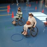 Vivre avec le handicap, un parcours de motricité pour personnes valides à Brest